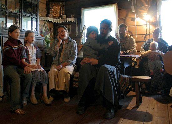 Отец Михаил Ганешин с семьей