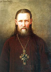 о. Иоанн Кронштадтский портрет работы М. Брянского
