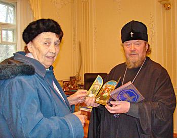 Майя Дмитриевна Прозоровская и митрополит Симферопольский и Крымский Лазарь