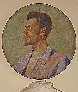 Портрет старшего брата святителя Луки Владимира Феликсовича Войно-Ясенецкого, написанный самим Святителем