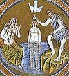 Заметки по иконографии Крещения Господня в византийском и древнерусском искусстве