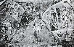 Фреска церкви Спаса на Нередице. 1199 г. Новгород.