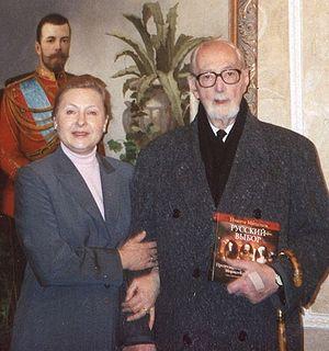 Елена Чавчавадзе с Андреем Шмеманом