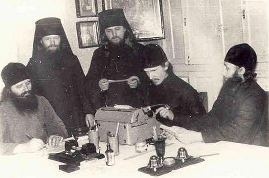 Почаевская братия пишет письмо в ООН в защиту Лавры, 1963 год.