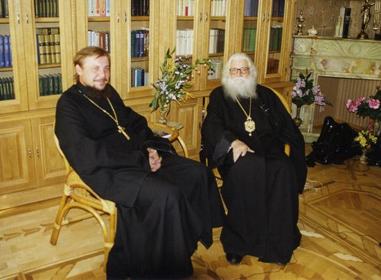 Священник Андрей Воронин и епископ Василий (Родзянко)