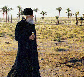 Bishop Basil (Rodzyanko) in the desert