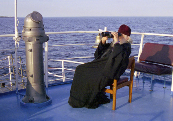 Bishop Basil (Rodzyanko) on the ship