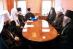 His Holiness Patriarch Kirill and His Beatitude Metropolitan Jonah discuss relations between the Russian Orthodox Church and the Orthodox Church in America