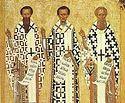 К истории почитания Трех Святителей и происхождения их праздника