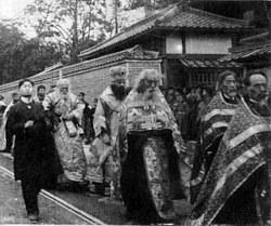 Похороны свт. Николая Японского