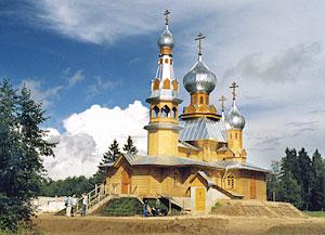 Храм в поселке Мирный
