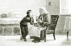 Бабка. Рисунок Е. Ванюкова