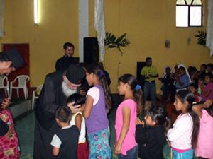 Православная литургия в Гватемале