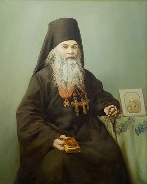 Загрузить увеличенное изображение. 500 x 623 px. Размер файла 72533 b. С. Ивлева. Архимандрит Вениамин (Петухов) - настоятель Сретенского монастыря в 1858-1872 годы. 2009 г.