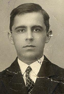 Владимир Васильевич Пронин в белградский период жизни (1930-е гг.)