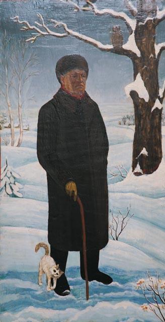 А.Ведерников. Портрет Г. Свиридова