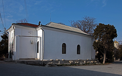 Современный вид храма в честь Семи сщмчч. Херсонесских. Фото Ю. Данилевского