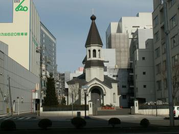 Orthodox Cathedral in Sendai