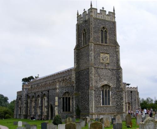 Церковь в Лоддони, Норфолк