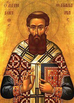 Загрузить увеличенное изображение. 600 x 833 px. Размер файла 47324 b.  Святитель Григорий Палама, архиепископ Фессалонитский