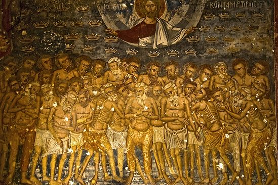 Icon of the Holy Forty Martyrs of Sebaste