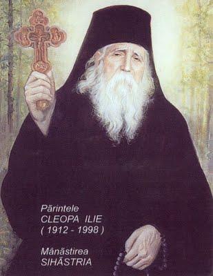 Elder Cleopa (Ilie) of Sihastria Monastery, Romania.