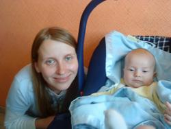 Третий ребенок Натальи и Яна родился в России. Но тоже - не гражданин.