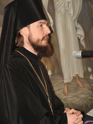 Игумен Петр (Еремеев), ректор Российского православного института святого Иоанна Богослова