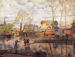 Кустодиев Б.М. Весна