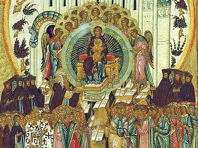 Синаксарь в субботу пятой седмицы Великого Поста, Похвала Пресвятой Богородицы (Суббота акафиста)