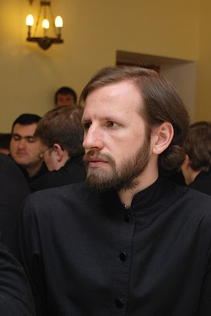 Seminarian Vitaly Brovko. Photo by Anton Pospelov/Pravoslavie.ru