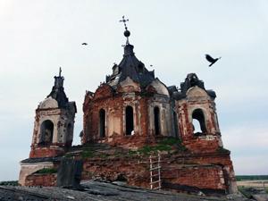 Храм во имя Святой Живоначальной Троицы в селе Клевакинском, закрытый в 1930-е годы