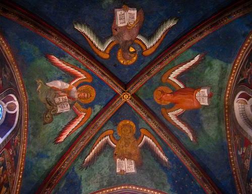 Купол часовни Святая Святых