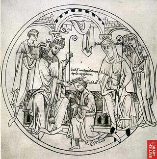 Загрузить увеличенное изображение. 550 x 557 px. Размер файла 92497 b.  Святой Гутлак с житием
