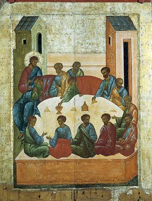 Тайная вечеря. 1497