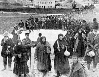 Pilgrims to Jerusalem from Old Russia.