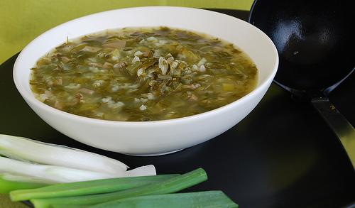 Paschal soup μαγειρίτσα (Magiritsa)