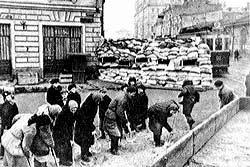 Можайское шоссе. 1941 г.