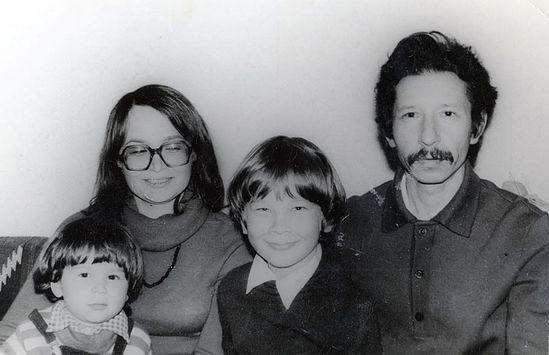 Афанасий Гумеров с семьей до принятия священного сана
