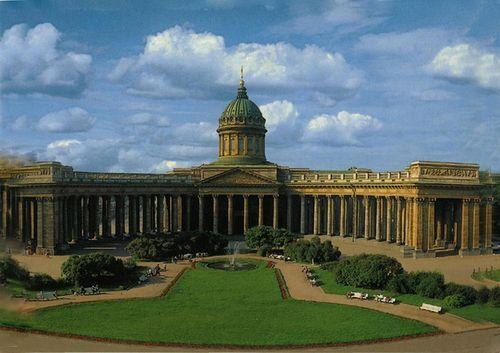 в 1811 году митрополит Амвросий освятил Казанский собор в Санкт-Петербурге.  Еще в 1710 году в городе появилась икона...