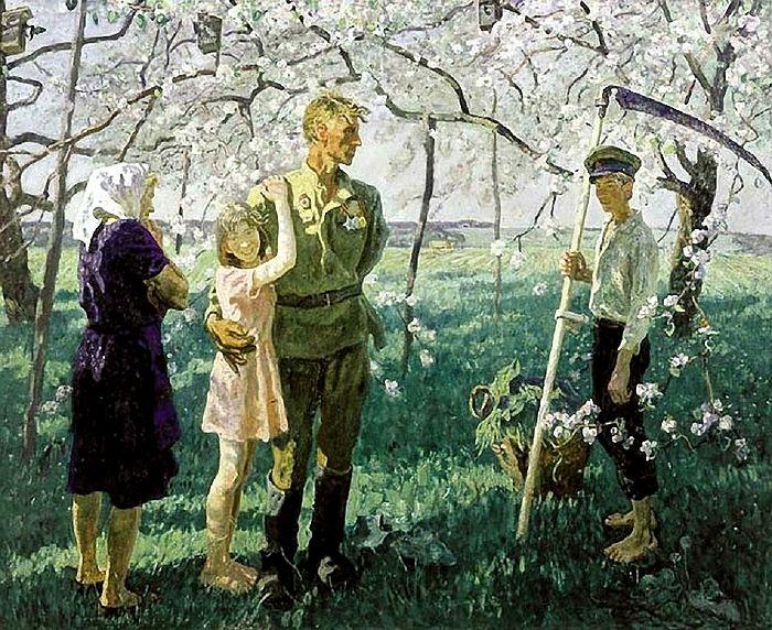 Май 1945 года. Художники: братья Ткачевы