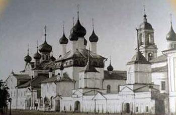 Ярославский Кирилло-Афанасьевский монастырь. Старинное фото