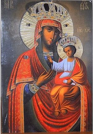 Icon of the Mother of God,