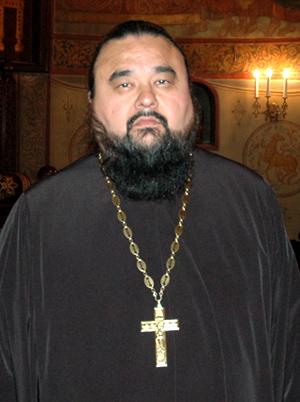 Протоиерей Владимир Бойков в Сретенском монастыре