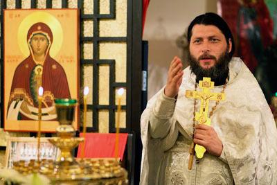 Отец Дионисий, настоятель прихода святых первоверховных апостолов Петра и Павла в Гонконге. Фото: Валерия Аникина