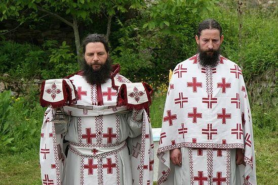 Иеромонах Андрей и иеромонах Петр