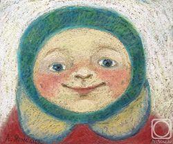 Загрузить увеличенное изображение. 600 x 501 px. Размер файла 172709 b.  Румяные щёчки. Рисунок: Анна Ярмолюк / artnow.ru