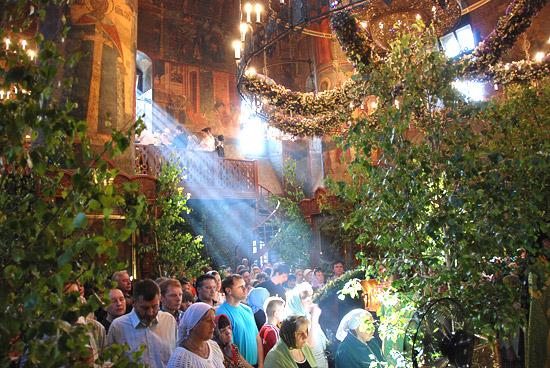 Сретенский монастырь, Троица 2011 г. Фото: А.Поспелов / Православие.Ru
