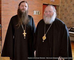 Fr. Artemy with His Eminence, Metropolitan Hilarion