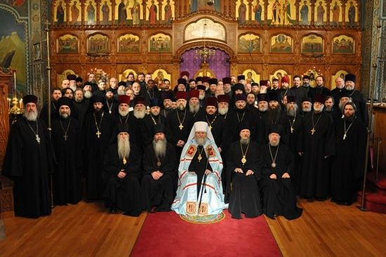 Clergy and hierarchs of the Russian Church Abroad